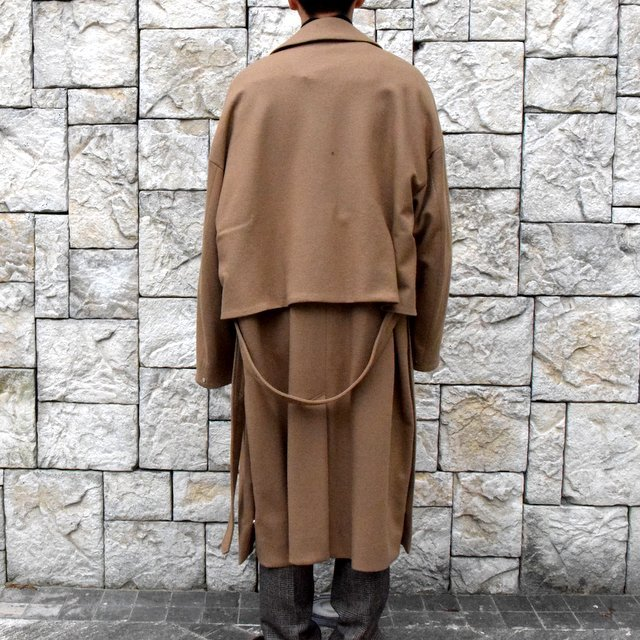 YOKE(ヨーク)/3WAY BAL COLLAR SHARE COAT -CAMEL- #YK19AW0049C(4)