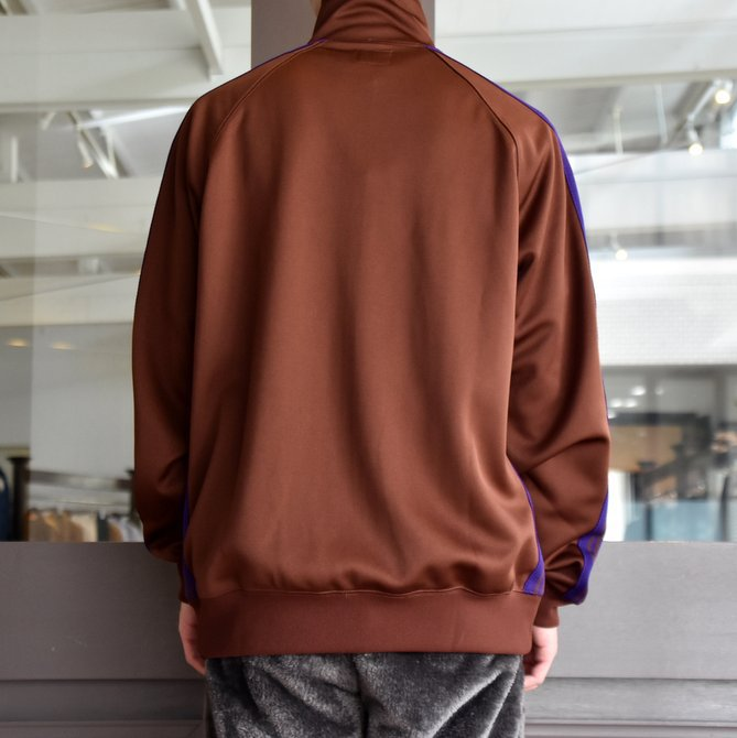 NEEDLES(ニードルス) TRACK JACKET-POLY SMOOTH-BROWN/#FK192(4)