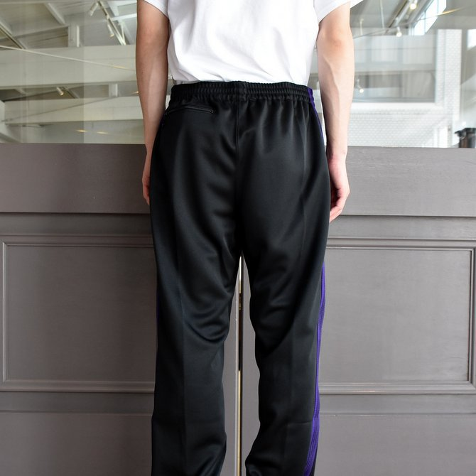 NEEDLES (ニードルス) TRACK PANT-POLY SMOTTH-BLACK/#FK193(4)