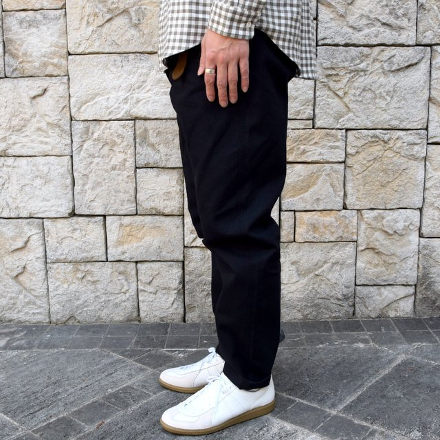 【2019 AW】BROWN by 2-tacs (ブラウンバイツータックス) WIDE -BLACK- #B22-P003(4)
