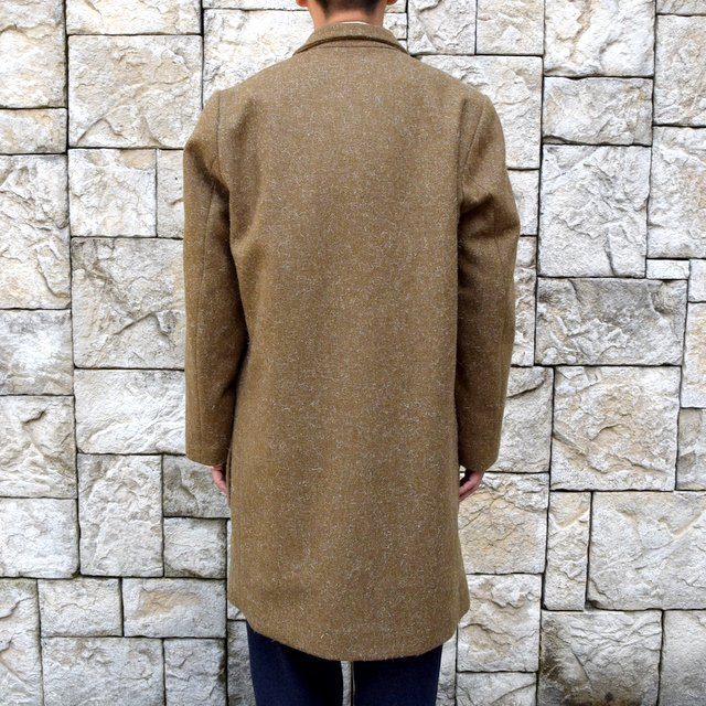 【30% off sale】FRANK LEDER(フランクリーダー) /DOG WOOL SINGLE BREASTED COAT -KHAKI- #0721014(4)