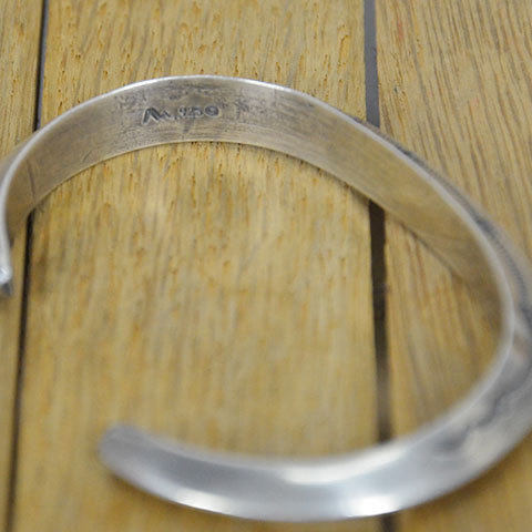AL SOMERS(アルソマーズ) SILVER TRIANGLE BANGLE -B1357-(5)