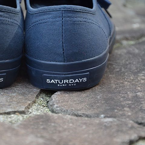 SATURDAYS SURF NYC(サタデーズサーフ NYC)JAY FOOT WEAR -Navy- (5)