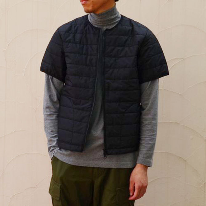 MASTER&Co.(マスターアンドコー) THINSULATE S/S INNER DOWN -(99)BLACK-(5)