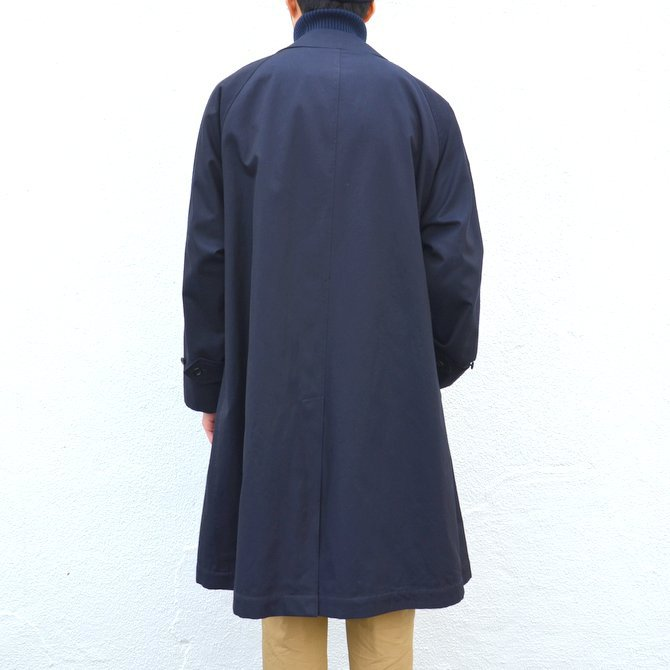ANATOMICA(アナトミカ)/ SINGLE RAGLAN COAT GABARDINE -(500)NAVY- #530-511-06(5)