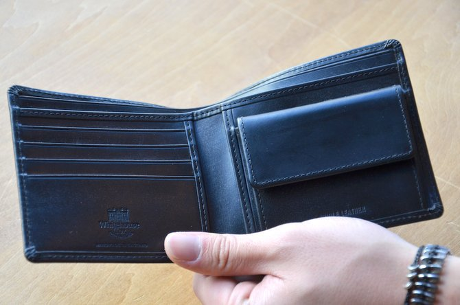 Whitehouse Cox (ホワイトハウスコックス)  COIN WALLET BRIDLE S7532 -BLACK-(5)