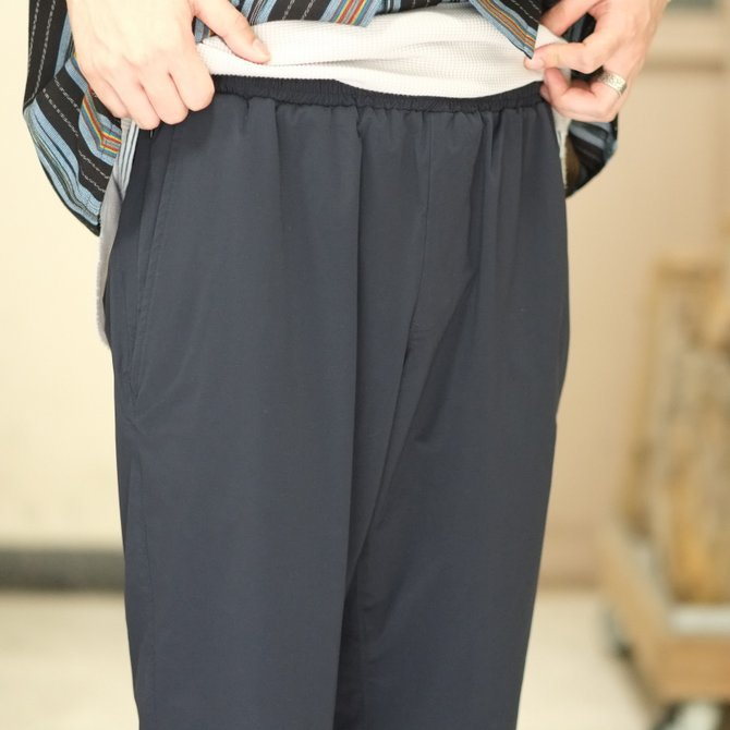 South2 West8(サウスツーウエストエイト) Cropped Boulder Pant [Poly Elastic Taffeta] -NAVY-  #CH767(5)