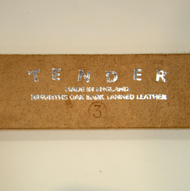 TENDER Co.(テンダー) TYPE 211 U BUCKLE BELT (5)