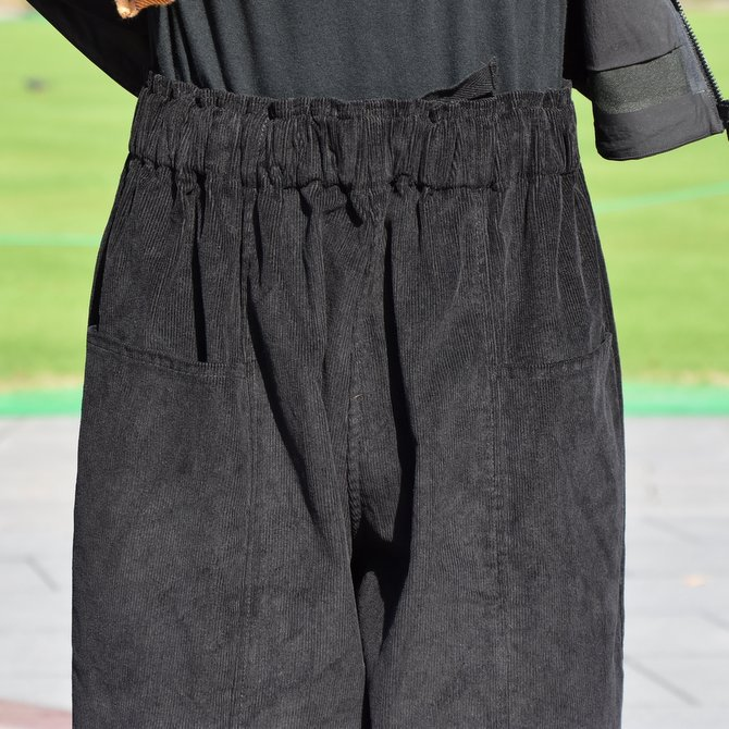 South2 West8(サウスツーウエストエイト) Army String Pant  [14W Corduroy] -BLACK-  #DI816(5)