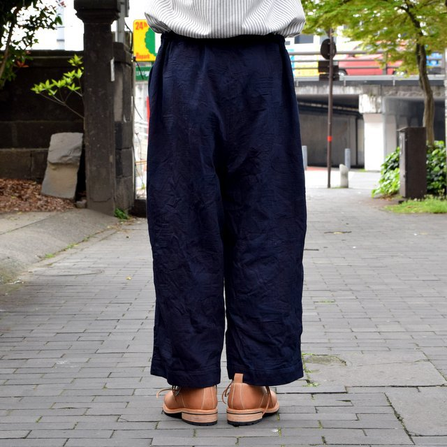 【30% off sale 】 FRANK LEDER(フランクリーダー)INDIGO DYED WASHED TROUSERS #0613030-39(5)