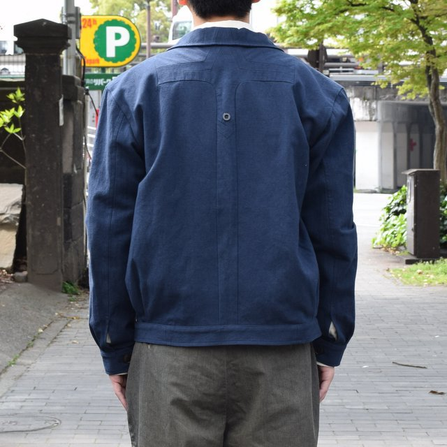 【30% off sale 】FRANK LEDER(フランクリーダー) COTTON SPADE JACKET -(39)NAVY- #0612009-39(5)