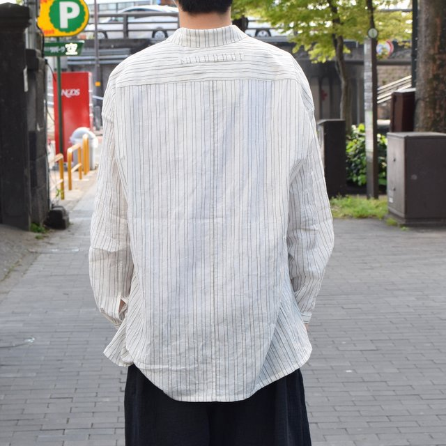 【2019 SS】 too good(トゥーグッド) / THE DRAUGHTSMAN SHIRTS WIDE -TICKING STRIPE-(5)