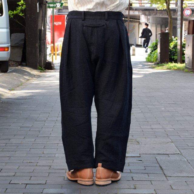 【2019 SS】 too good(トゥーグッド) / THE TINKER TROUSER DOUBLE CLOTH KINEN -FLINT- #62034990-19ss(5)