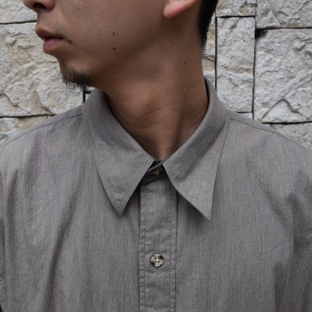 Marvine Pontiak Shirt Makers(マーヴィンポンティアックシャツメーカーズ)/TWO TONE L/S Shirt -BROWN- #MPSM-1913S(5)