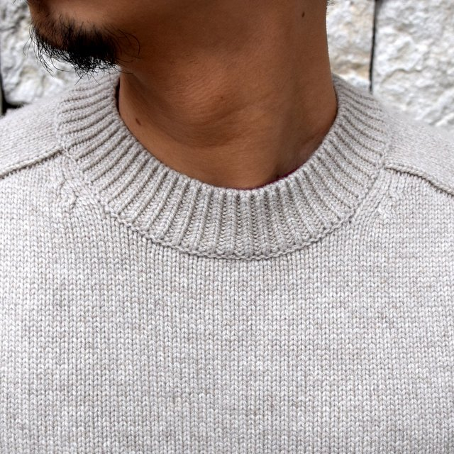BATONER(バトナ—)/ HEAVY WEIGHT CASHMERE CREW NECK BN-19FL-044(5)