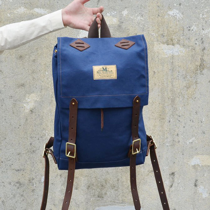 SEIL MARSCHALL(サイル マーシャル) MINI-CANOE PACK -(39CA)NAVY-(6)