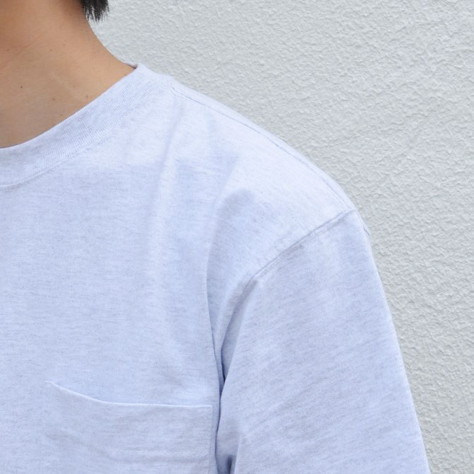 CAMBER(キャンバー) MAX WEIGHT POCKET TEE -WHITE-(6)