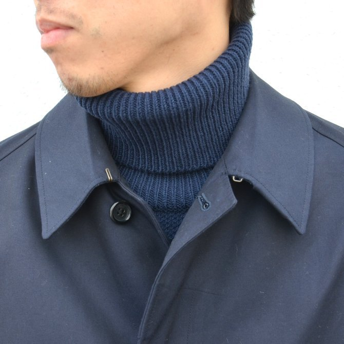 ANATOMICA(アナトミカ)/ SINGLE RAGLAN COAT GABARDINE -(500)NAVY- #530-511-06(6)