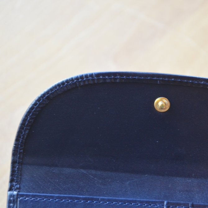 Whitehouse Cox (ホワイトハウスコックス)  3FOLD WALLET BRIDLE S7660 -NAVY-(6)