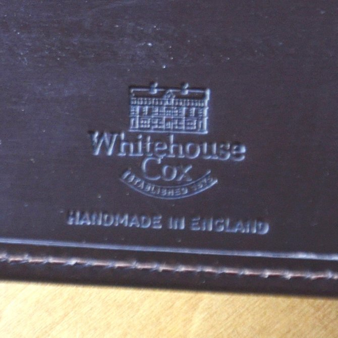 Whitehouse Cox (ホワイトハウスコックス)  COIN WALLET BRIDLE S7532 -HAVANA-(6)