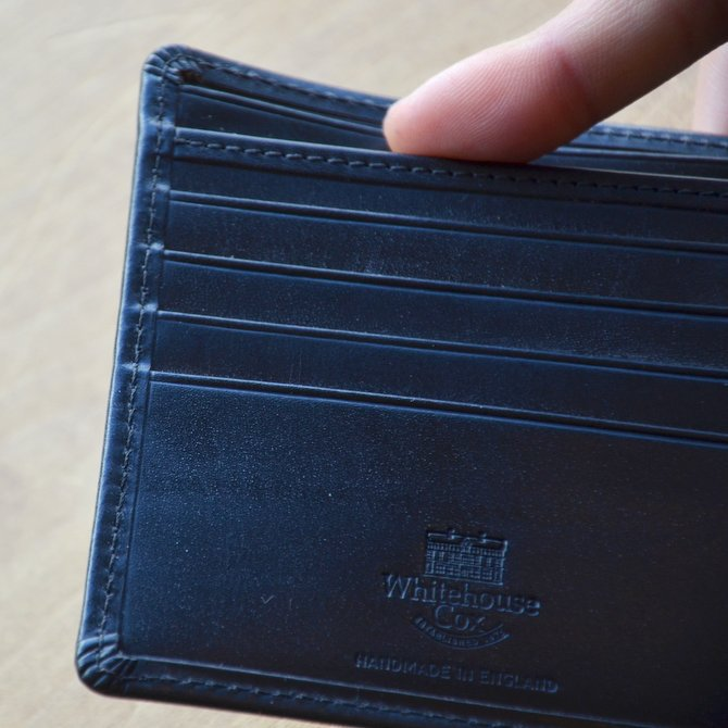 Whitehouse Cox (ホワイトハウスコックス)  COIN WALLET BRIDLE S7532 -BLACK-(6)