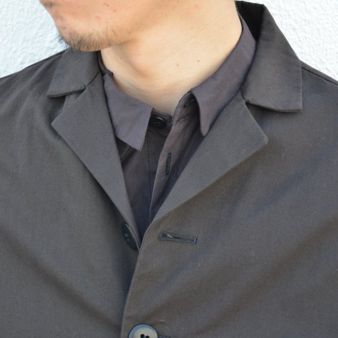 too good(トゥーグッド) / THE PHOTOGRAPHER JACKET PLAIN COTTON -SOOT-(6)