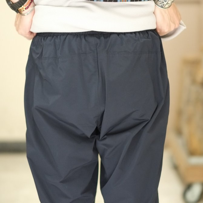 South2 West8(サウスツーウエストエイト) Cropped Boulder Pant [Poly Elastic Taffeta] -NAVY-  #CH767(6)