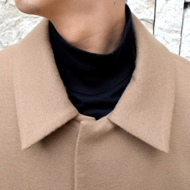 YOKE(ヨーク)/3WAY BAL COLLAR SHARE COAT -CAMEL- #YK19AW0049C(6)