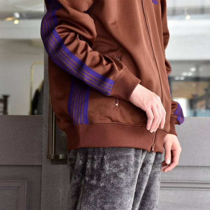 NEEDLES(ニードルス) TRACK JACKET-POLY SMOOTH-BROWN/#FK192(6)