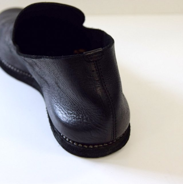GUIDI(グイディ) SLIP-ON SHOES -BLACK- #E28M(6)