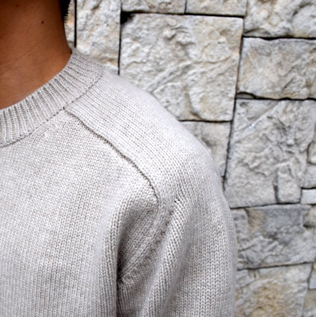 BATONER(バトナ—)/ HEAVY WEIGHT CASHMERE CREW NECK BN-19FL-044(6)
