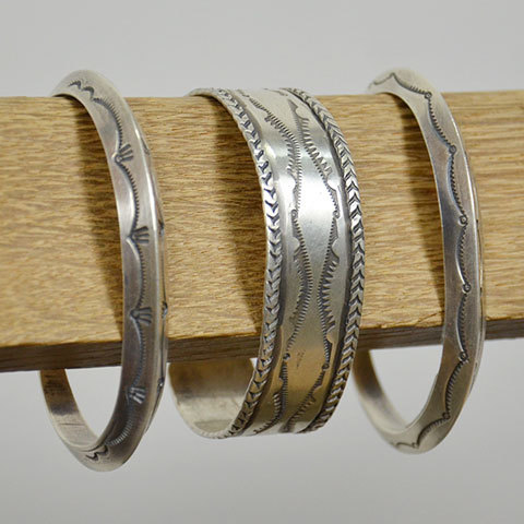 AL SOMERS(アルソマーズ) SILVER TRIANGLE BANGLE -B1357-(7)