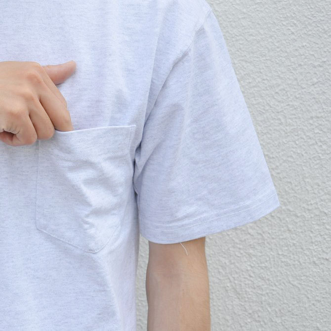 CAMBER(キャンバー) MAX WEIGHT POCKET TEE -WHITE-(7)