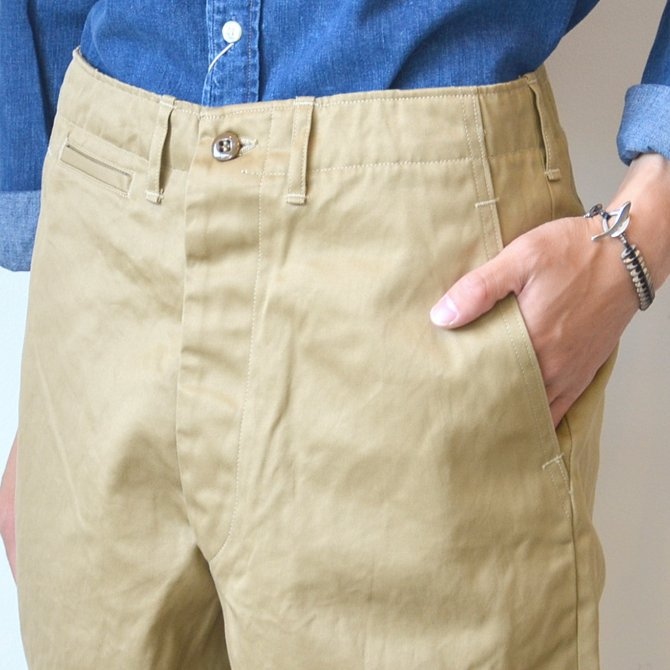 orSlow(オアスロウ)/ VINTAGE FIT ARMY TROUSE -(40)KHAKI- #03-V5361-40(7)