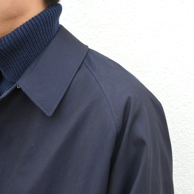 ANATOMICA(アナトミカ)/ SINGLE RAGLAN COAT GABARDINE -(500)NAVY- #530-511-06(7)