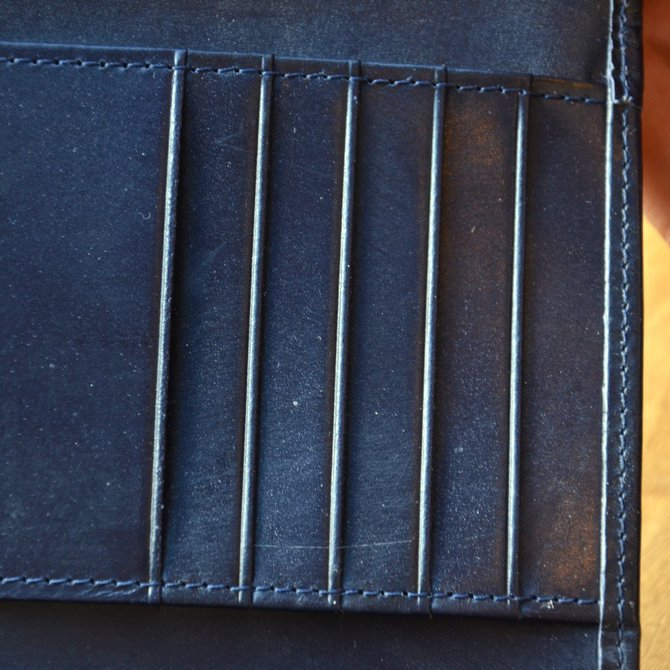 Whitehouse Cox (ホワイトハウスコックス)  3FOLD WALLET BRIDLE S7660 -NAVY-(7)