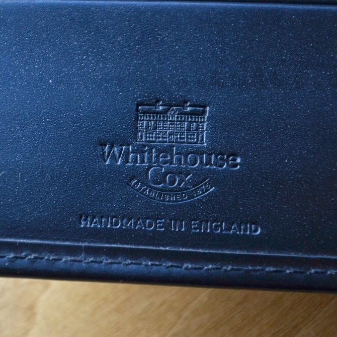 Whitehouse Cox (ホワイトハウスコックス)  COIN WALLET BRIDLE S7532 -BLACK-(7)
