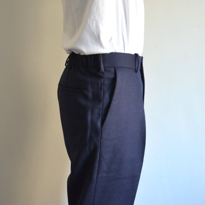 【17 AW】 MARKAWARE(マーカウェア)/ FRONT PLEATS PEGTOP -NAVY- #A17C-08PT01C(7)