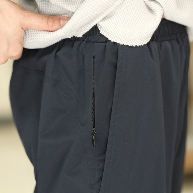South2 West8(サウスツーウエストエイト) Cropped Boulder Pant [Poly Elastic Taffeta] -NAVY-  #CH767(7)