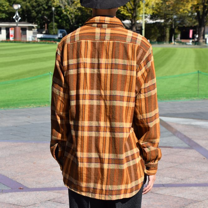 South2 West8(サウスツーウエストエイト) Work Shirt  [Cotton Twill / Plaid ] -BROWN-  #DI846(7)