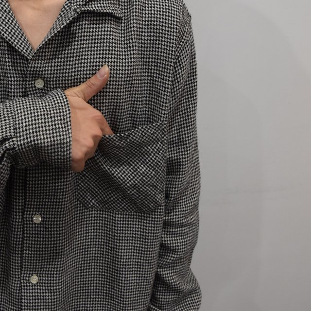 【2019 AW】 MOJITO(モヒート)/ ABSHINTH SHIRT Bar.2.0 -HOUNDS TOOTH (09)- #2094-1101(7)
