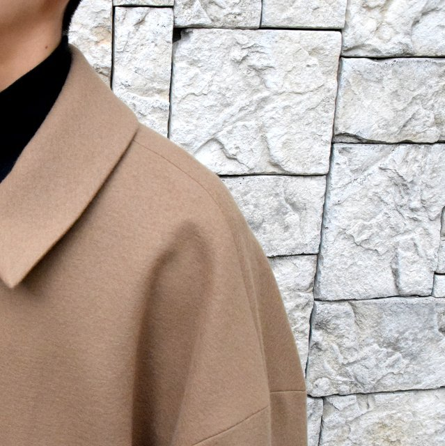 YOKE(ヨーク)/3WAY BAL COLLAR SHARE COAT -CAMEL- #YK19AW0049C(7)