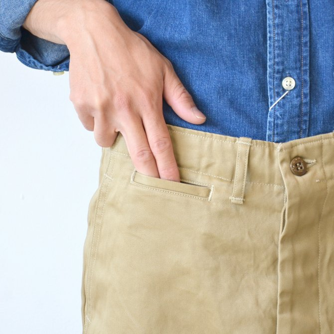 orSlow(オアスロウ)/ VINTAGE FIT ARMY TROUSE -(40)KHAKI- #03-V5361-40(8)