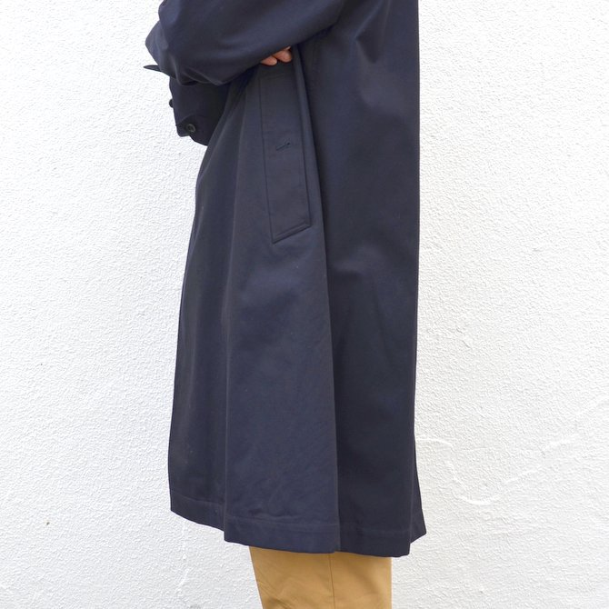 ANATOMICA(アナトミカ)/ SINGLE RAGLAN COAT GABARDINE -(500)NAVY- #530-511-06(8)