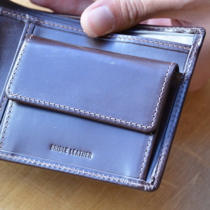Whitehouse Cox (ホワイトハウスコックス)  COIN WALLET BRIDLE S7532 -HAVANA-(8)