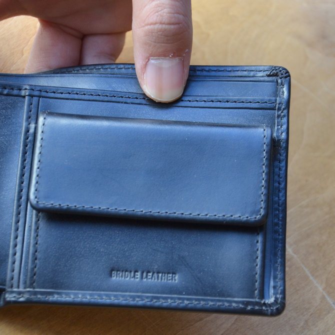 Whitehouse Cox (ホワイトハウスコックス)  COIN WALLET BRIDLE S7532 -BLACK-(8)