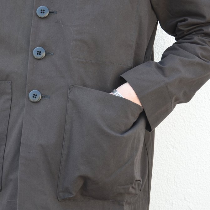 too good(トゥーグッド) / THE PHOTOGRAPHER JACKET PLAIN COTTON -SOOT-(8)