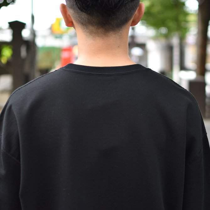 【2018 AW】AURALEE(オーラリー)/ SUPER SOFT HEAVY SWEAT P/O -BLACK- #A8AP01GU(8)