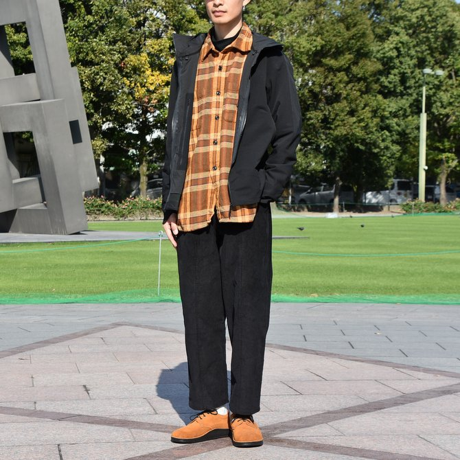 South2 West8(サウスツーウエストエイト) Work Shirt  [Cotton Twill / Plaid ] -BROWN-  #DI846(8)