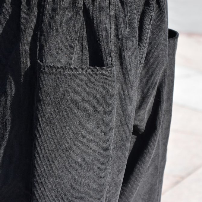 South2 West8(サウスツーウエストエイト) Army String Pant  [14W Corduroy] -BLACK-  #DI816(8)